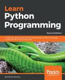 Learn Python Programming PDF