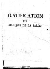 Lettre du marquis de La Salle à ses concitoyens
