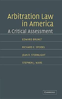 Arbitration Law in America PDF