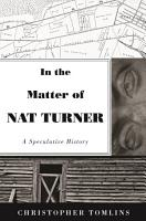 In the Matter of Nat Turner PDF