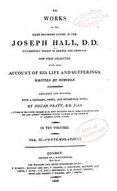 The Works of Joseph Hall: Contemplations on the Old and New Testaments