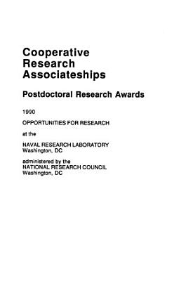 Cooperative Research Associateships, Post Doctoral Research Awards