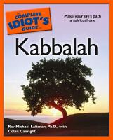 The Complete Idiot s Guide to Kabbalah PDF