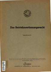 Das Betriebsverfassungsrecht PDF