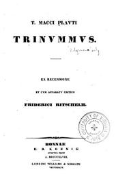T. Macci Plauti Comoediae: Volume 1, Part 11