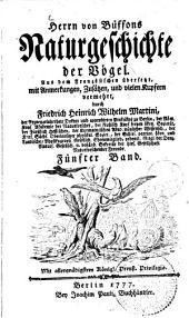 Naturgeschichte der Vögel: 5
