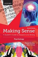Making Sense in Psychology PDF