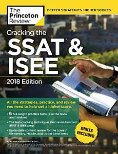 Cracking the SSAT   ISEE  2018 Edition Book