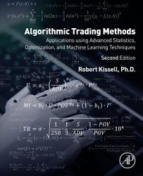 Algorithmic Trading Methods Book PDF