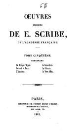 Oeuvres choisies de E. Scribe: Volume5