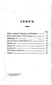A catalogue of a select collection of valuable books