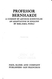 Professor Bernhardi: A Comedy