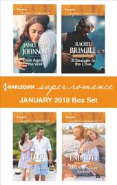 Harlequin Superromance January 2018 Box Set: Back Against the Wall\The Navy SEAL's Rescue\A Stranger in the Cove\Moonlight Over Seattle