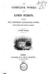 The Complete Works Of Lord Byron Book PDF