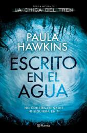 Escrito en el agua (Edición mexicana)