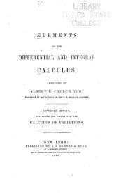 Elements of the Differential and Integral Calculus: Volume 25