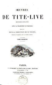 Oeuvres (Histoire romaine): Volume1