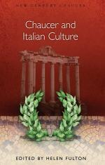 Chaucer and Italian Culture
