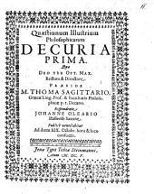 Quaestionum illustrium philosophicarum decuria prima