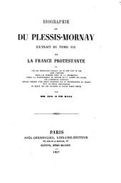 Biographie de Du Plessis-Mornay