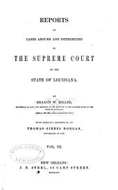Reports of Cases Argued and Determined in the Supreme Court of Louisiana: Volume 5, Issue 25 - Volume 6, Issue 26