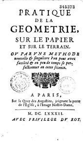 Traité de la géométrie sur le papier et sur le terrain, par Sébastien Leclerc