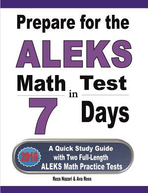 Prepare for the ALEKS Math Test in 7 Days PDF