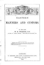 Eastern Manners and Customs
