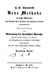 Anleitung zur Erlernung der spanischen Sprache nach dem von Velasquez de la Cadena für Engländer verfassten Lehrbuche deutsch bearbeitet und mit einem systematischen Anhange versehen von Friedrich Funck