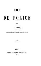 Code de Police