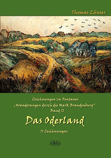 Zeichnungen zu Fontanes    Wanderungen durch die Mark Brandenburg        Band II