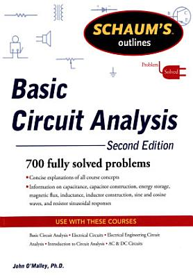 Schaum s Outline of Basic Circuit Analysis  Second Edition PDF
