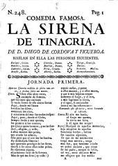 Comedia famosa: La sirena de Tinacria