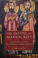 The Gospel As Manuscript PDF