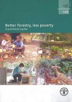 Better Forestry  Less Poverty PDF
