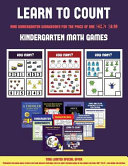 Kindergarten Math Games  Learn to Count for Preschoolers  PDF