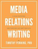 Media Relations Writing