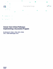 Cancer Care Critical Pathways PDF