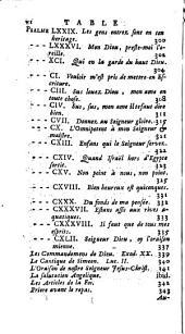 Oeuvres de Clement Marot: Volume4