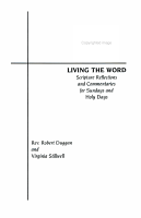 Living the word   Year C   Scripture reflections and commentaries for Sundays and Holy Days PDF