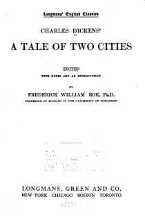 Charles Dickens  A Tale of Two Cities PDF