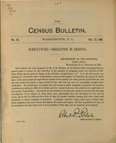 Census Bulletin: Issue 35