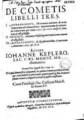 De Cometis libelli tres... Autore Iohanne Keplero... (Carmen J. Tanckii)