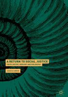 A Return to Social Justice PDF