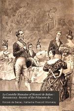Bureaucracy. Secrets of the Princesse de Cadignan. Unconscious comedians, etc