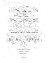 Variations brillantes: pour piano et violon