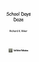 School Days Daze PDF