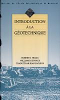 Introduction    la g  otechnique PDF