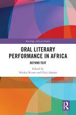 Oral Literary Performance in Africa