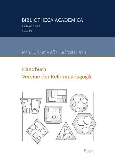 Handbuch Vereine der Reformp  dagogik PDF